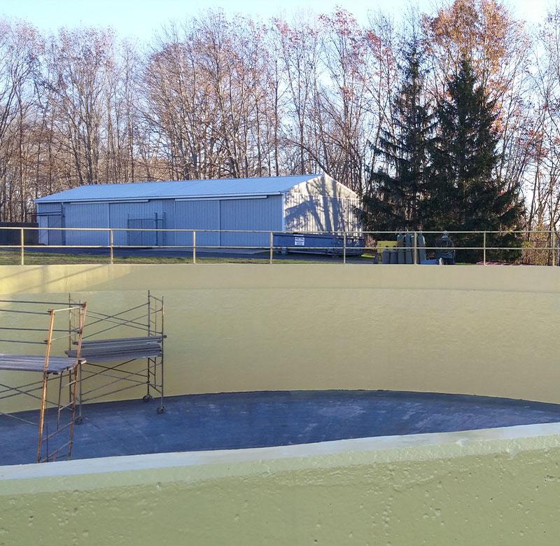 Paw Paw Lake Sewage Plant, East Clarifier
