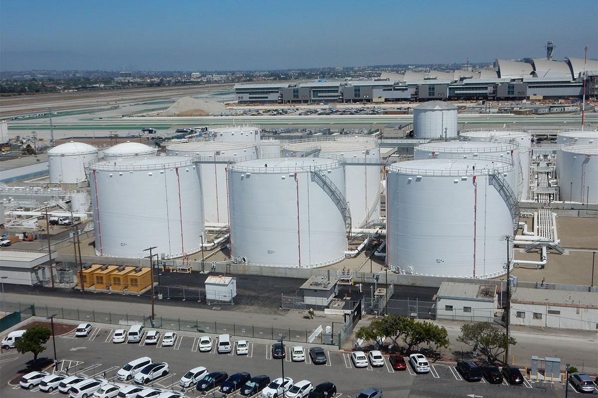 LAX Jet Fuel Tanks
