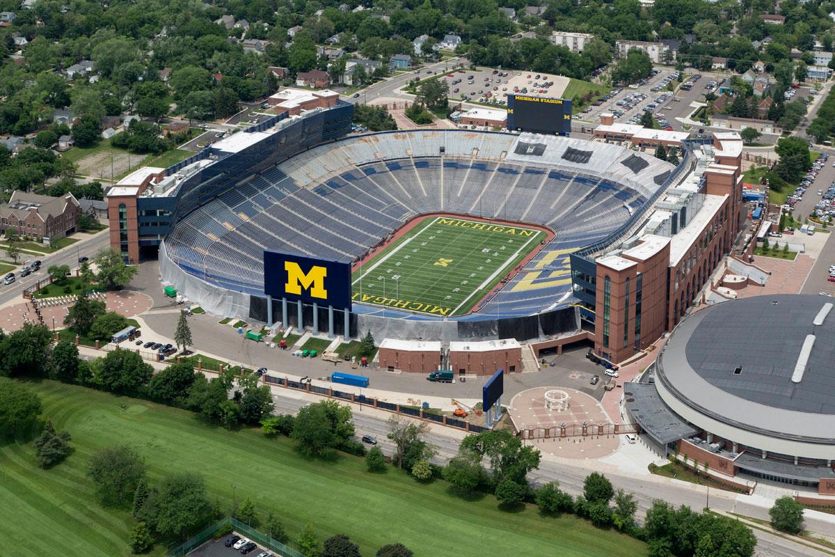 "University of Michigan ""The Big House"" Ann Arbor, MI"