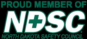 North Dakota Safety Council Badge