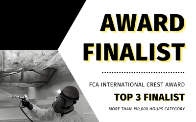 Niles Industrial Coatings Finished as a CREST Award Top 3 Finalist!